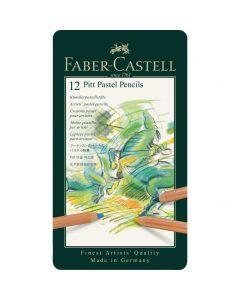 Faber-Castell Pitt Pastel Pencil 12 Tin