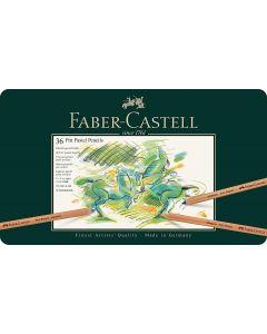 Faber-Castell Pitt Pastel Pencil 36 Tin