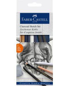 Faber-Castell Charcoal Sketch Set