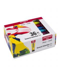 Amsterdam Acrylic General Selection Set 36 x 20ml