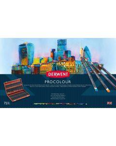 Derwent Procolour 72 Wooden Box Set