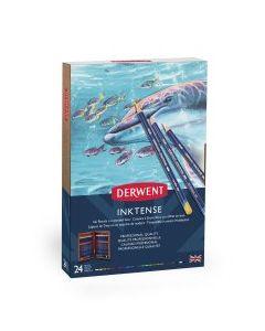 Derwent Inktense Pencils 24 Wooden Box Set