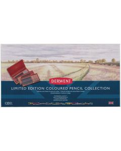 Derwent Limited Edition 120 Coloured Pencil Collection Wooden Box