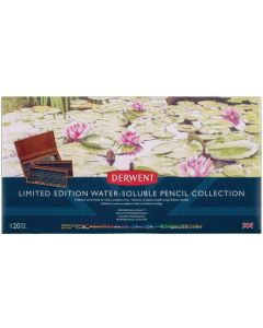 Derwent Limited Edition 120 Water-soluble Pencil Collection