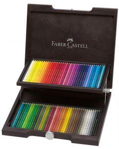 Faber-Castell Polychromos Pencil 72 Wooden Box Set