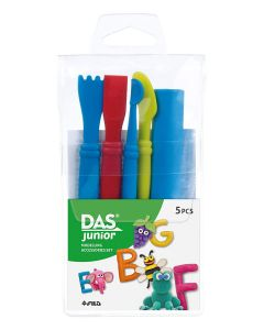 DAS Junior Modelling Clay Accessories Set of 5