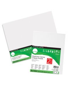 Daler Rowney Simply Stretched Canvas Twin Packs