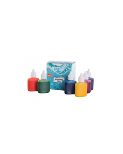 Scola Marbling Ink Assorted Colour Set 6 x 25ml