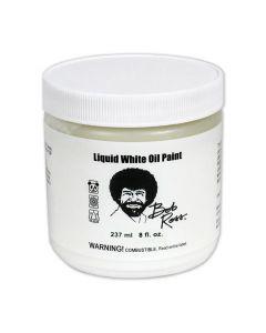 Bob Ross Liquid White Oil Paint 237ml