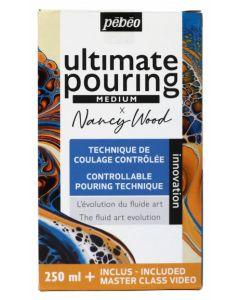 Pebeo X Nancy Wood Ultimate Pouring Medium Kit 250ml