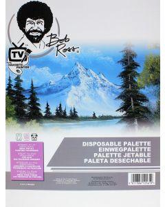 """Bob Ross Disposable Palette 12 x 16"""""""