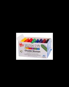 Scola Chubbi Stump Crayons Pack of 40