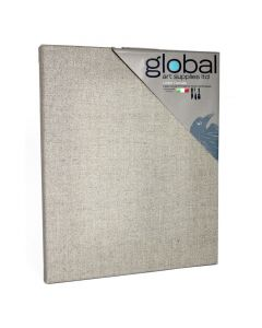 Global Art Supplies Natural Linen Canvases (Packs of 4)