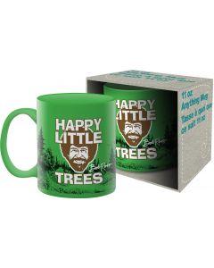 Bob Ross 'Happy Little Trees' Official Mug 11oz
