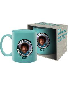 Bob Ross 'No Mistakes' Official Mug 11oz