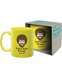 Bob Ross 'Let's Get Crazy' Official Mug 11oz