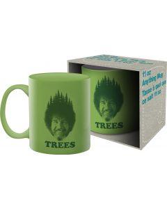Bob Ross 'Trees' Official Mug 11oz