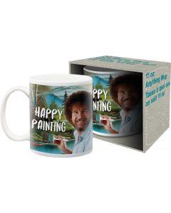 Bob Ross 'Happy Painting' Official Mug 11oz