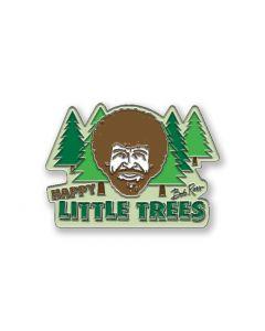 Bob Ross 'Happy Little Trees' Enamel Pin Badge