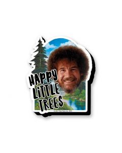 Bob Ross 'Happy Little Trees' Chunky Magnet
