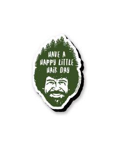 Bob Ross 'Hair Day' Chunky Magnet