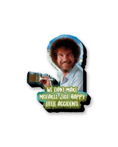 Bob Ross 'Happy Accidents' Chunky Magnet
