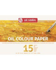 Talens Art Creation Oil Colour Paper Pad A4