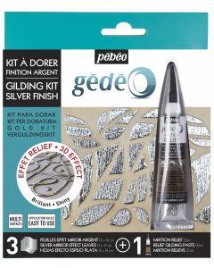 Pebeo Silver Finish Gilding Kit