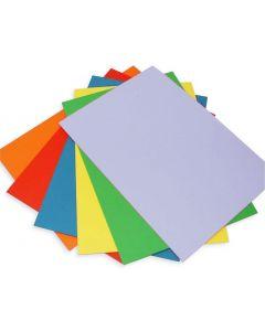Craft UK Craft Essentials 30 Sheets Rainbow Card A4
