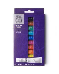 Winsor & Newton Artisan Water Mixable Oil Colour Set 10 x 12ml