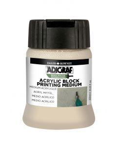 Daler Rowney Adigraf Acrylic Block Printing Medium 250ml