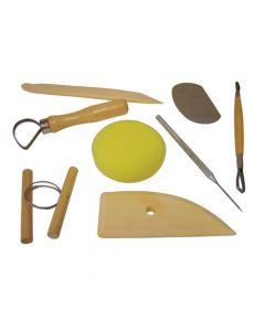 Major Brushes Pottery Tool Kit