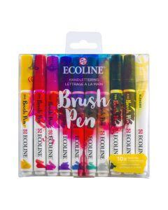 Ecoline Brush Pen Handlettering Set of 10