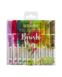 Ecoline Brush Pen Botanic Set of 10