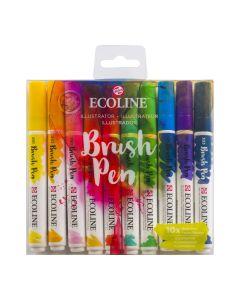 Ecoline Brush Pen Illustrator Set of 10