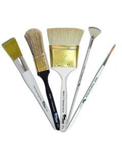 Bob Ross Landscape Series Oil Painting Brushes