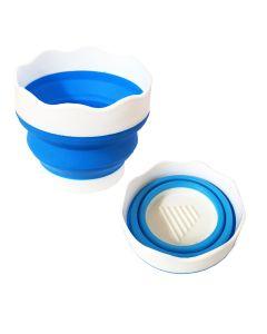 Pop Up Collapsible Plastic Water Pot 9.5 cm