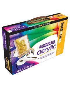 Daler Rowney Graduate Acrylic Box Easel Set I The Art Shop Skipton