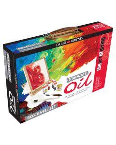 Daler Rowney Graduate Oil Paint Box Easel Set I The Art Shop Skipton