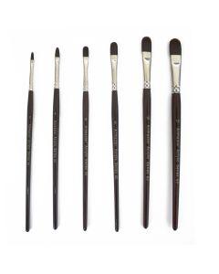 Artmaster Acrylic Series 62 Paint Brushes (Filbert)