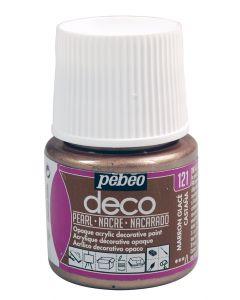 Pebeo Deco Pearl Colour Paints for Interior & Decor
